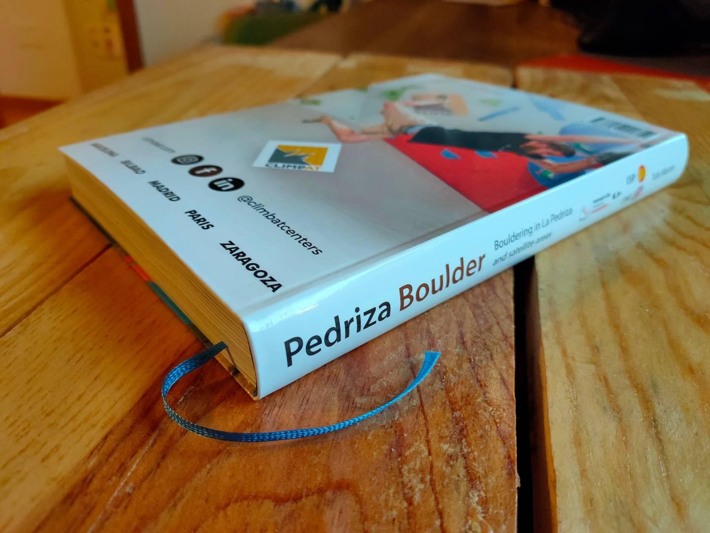 pedriza boulder 3470 back guidebook